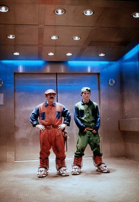 Super Mario Bros. mit John Leguizamo und Bob Hoskins