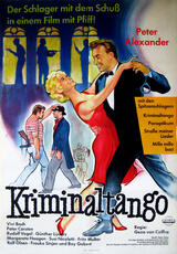 Kriminaltango - Poster
