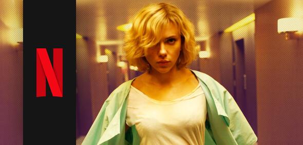 Lucy mit Scarlett Johansson