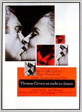 Thomas Crown ist nicht zu fassen - Poster