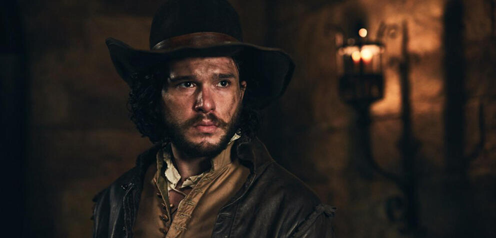 Kit Harington als Robert Catesby inGunpowder
