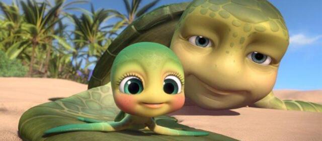 Noch ist die Welt der knuffigen Schildkröten in Ordnung