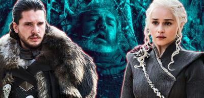 Jon, Daenerys und Hodor in Game of Thrones