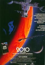 2010 - Das Jahr, in dem wir Kontakt aufnehmen - Poster