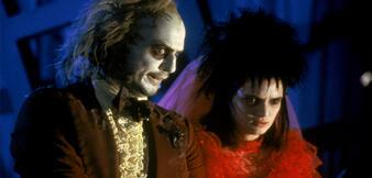 Michael Keaton und Winona Ryder in Beetlejuice