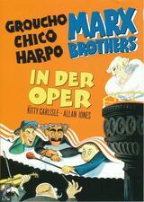 Die Marx Brothers in der Oper - Poster