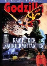 Godzilla - Kampf der Sauriermutanten - Poster
