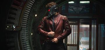 Bald vor digitalem Hintergrund? Chris Pratt als Star-Lord.