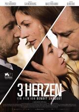 3 Herzen - Poster