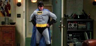 Pssst! Ich bin Batman ...