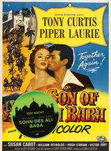 Der Sohn von Ali Baba - Poster