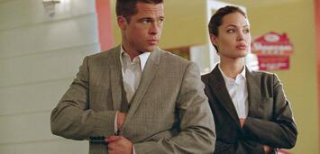 Bild zu:  Brad Pitt und Angelina Jolie in Mr. und Mrs. Smith