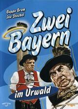 Zwei Bayern im Urwald - Poster