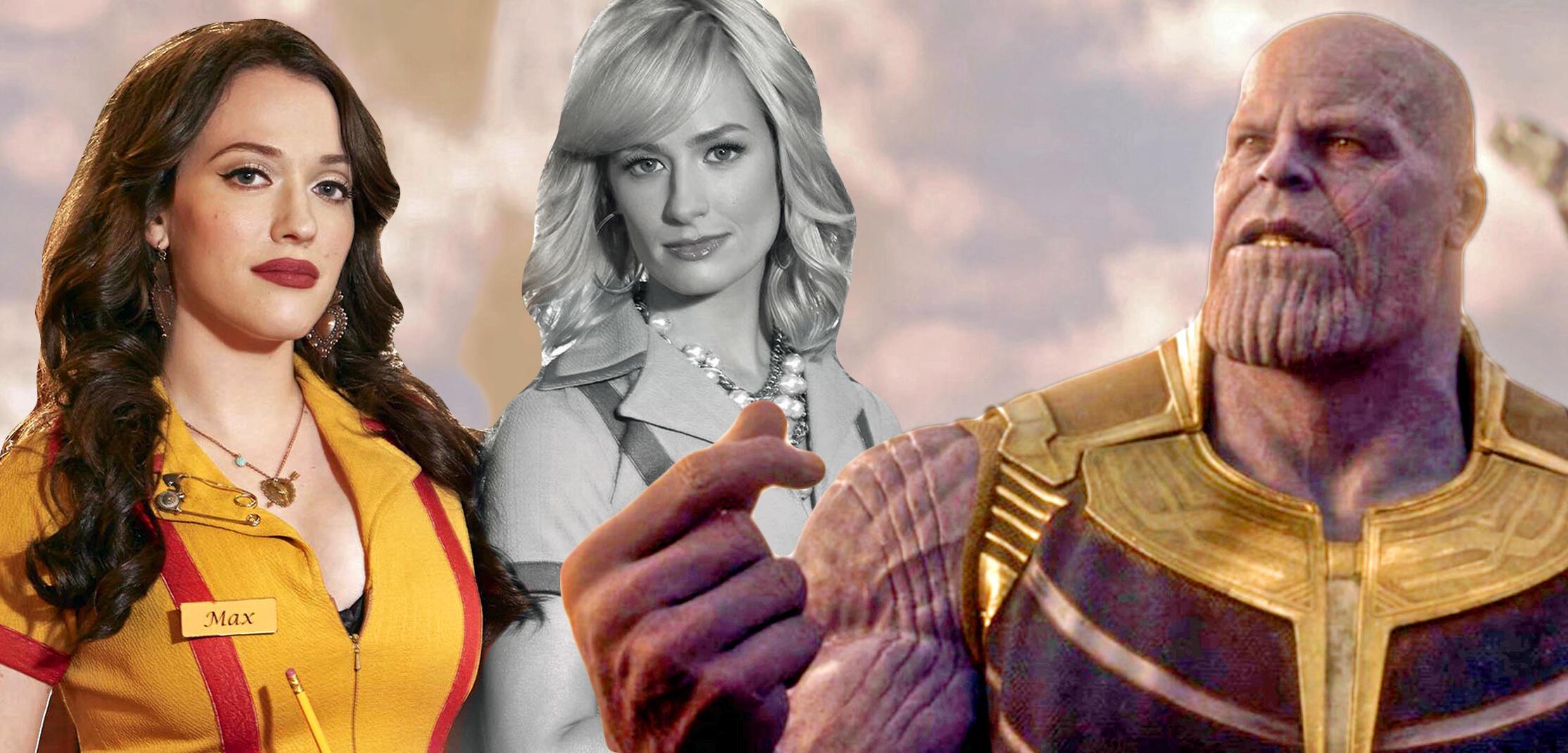 1 Broke Girl: Nennt uns eure Lieblingsserien nach Thanos' Schnipser