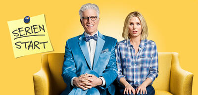 The Good Place, Staffel 2: Ted Danson und Kristen Bell