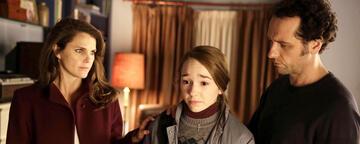 Elizabeth und Philip mit Tochter Paige