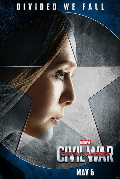 The First Avenger: Civil War mit Elizabeth Olsen
