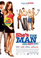 She's the Man - Voll mein Typ - Poster