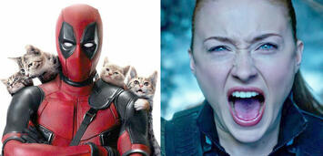 Bild zu:  Deadpool/Sophie Turner in X-Men: Apocalypse