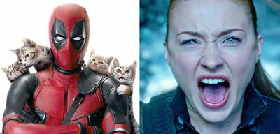 Deadpool/Sophie Turner in X-Men: Apocalypse