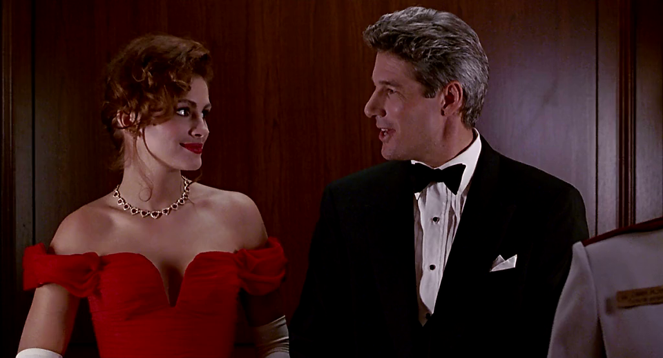 Pretty Woman mit Julia Roberts und Richard Gere