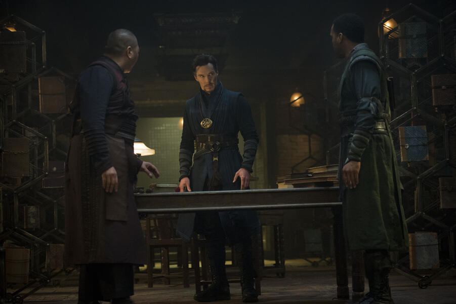 Doctor Strange mit Benedict Cumberbatch und Benedict Wong