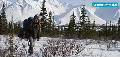 Emile Hirsch in einer Szene aus Into the Wild