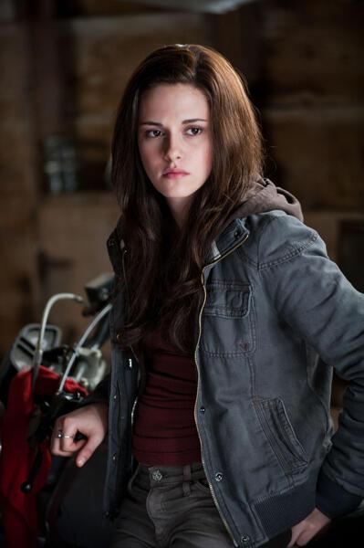 Kristen Stewart als Bella Swan in der Twilight-Saga