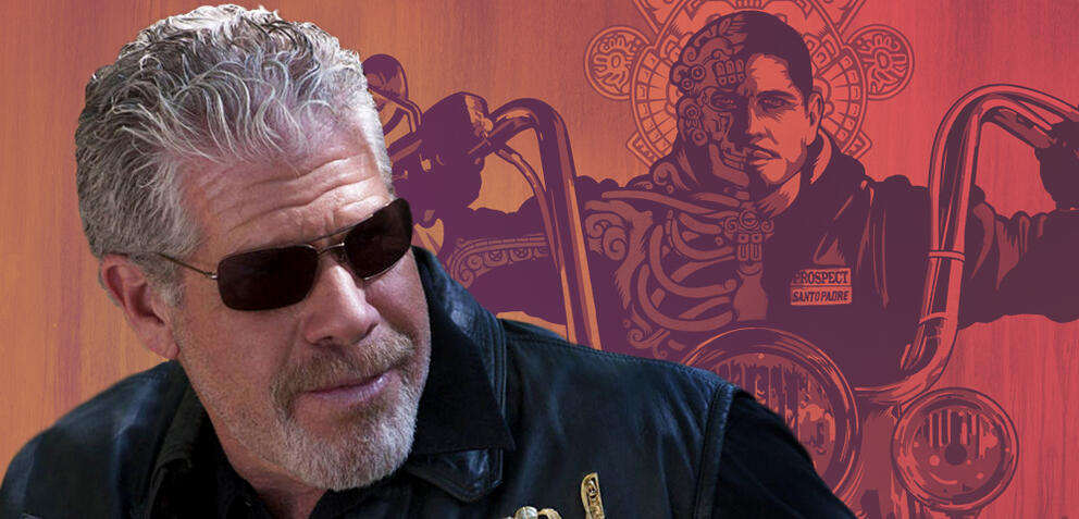 """Ron Perlman als Clarence """"Clay"""" Morrow in Sons of Anarchy"""