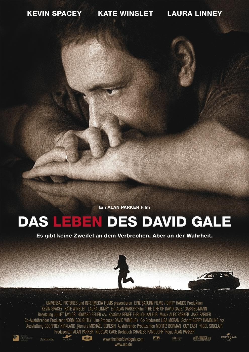 Leben von David Gale Sex