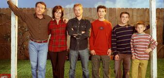Der Cast von Malcolm mittendrin