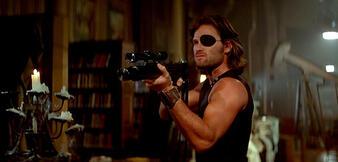 Kurt Russell als Snake Plissken