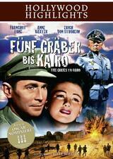 Fünf Gräber bis Kairo - Poster