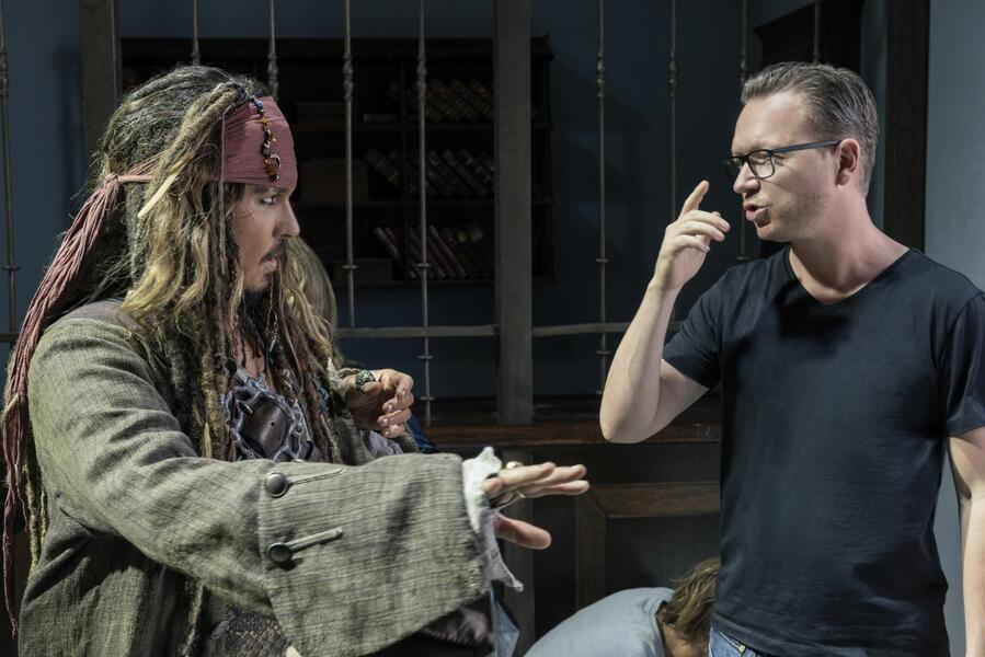 Pirates of the Caribbean 5: Salazars Rache mit Johnny Depp und Espen Sandberg
