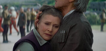 Bild zu:  Carrie Fisher in Star Wars 7