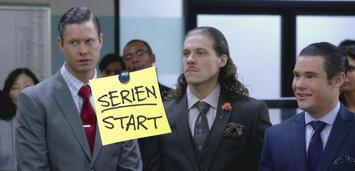Bild zu:  Workaholics mit Anders Holm, Adam DeVine und Blake Anderson
