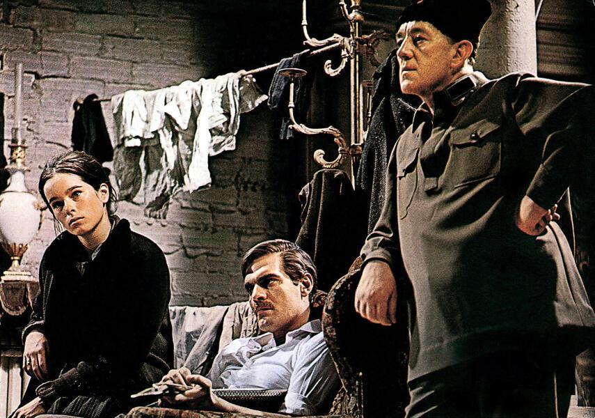 Doktor Schiwago mit Alec Guinness, Omar Sharif und Geraldine Chaplin