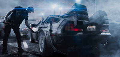 Ready Player One - der Delorean