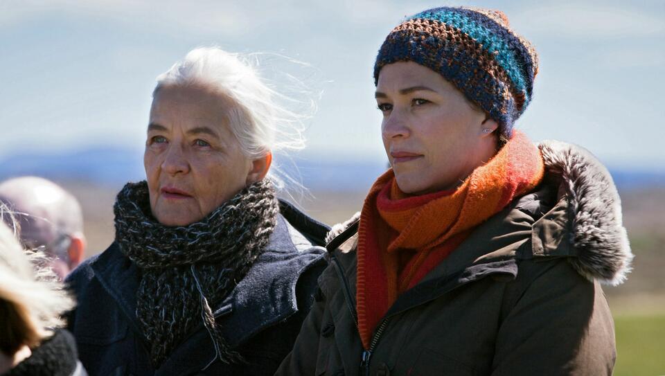 Der Island-Krimi: Der Tote im Westfjord mit Franka Potente und Hildegard Schmahl