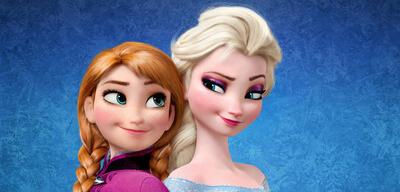 Anna und Elsa in die Eiskönigin - Völlig unverfroren