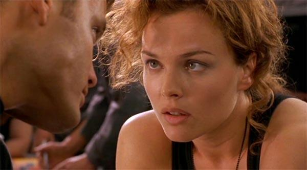 Starship Troopers mit Dina Meyer