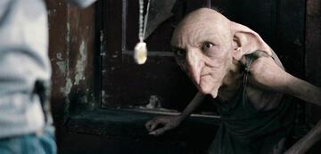 Timothy Bateson als Kreacher in Harry Potter