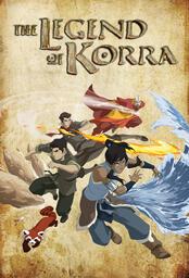 Die Legende von Korra - Poster