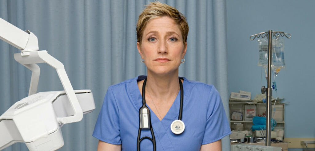 Edie Falco in Nurse Jackie