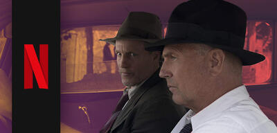 Kevin Costner und Woody Harrelson in The Highwaymen