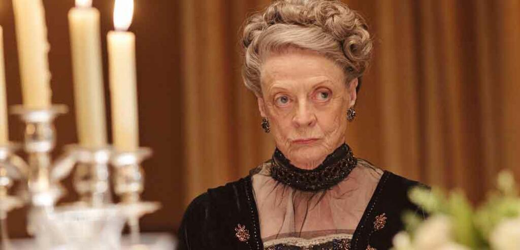 Downton Abbey mit Maggie Smith