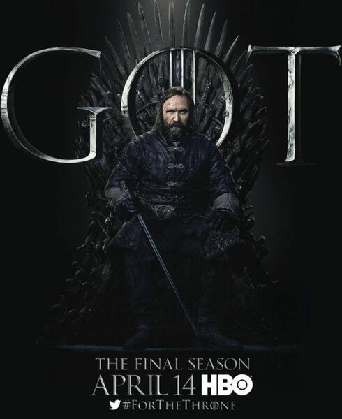 Game of Thrones, Game of Thrones - Staffel 8 mit Rory McCann