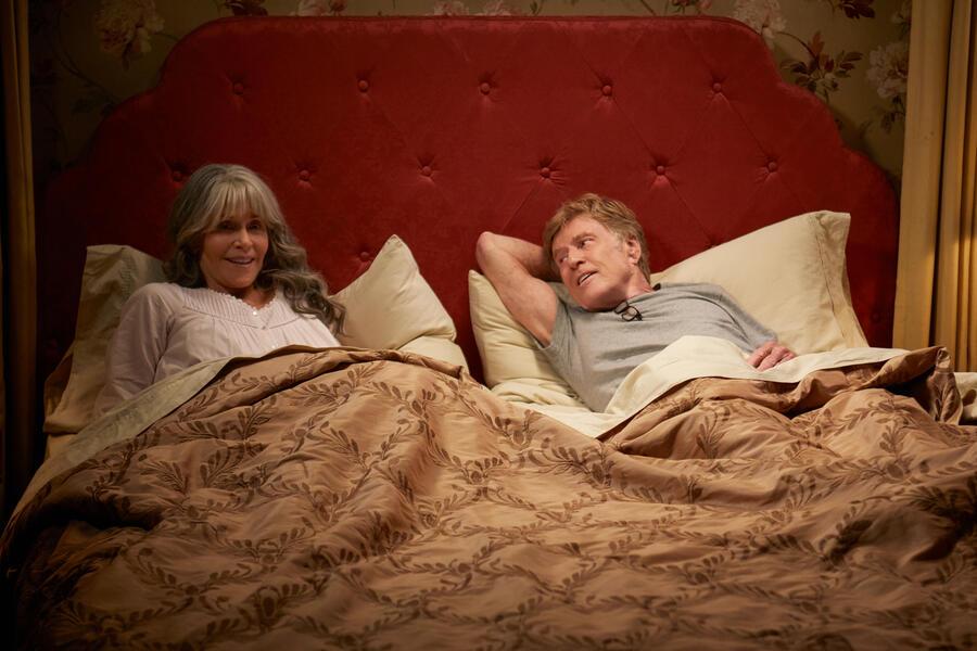 Unsere Seelen bei Nacht mit Robert Redford und Jane Fonda