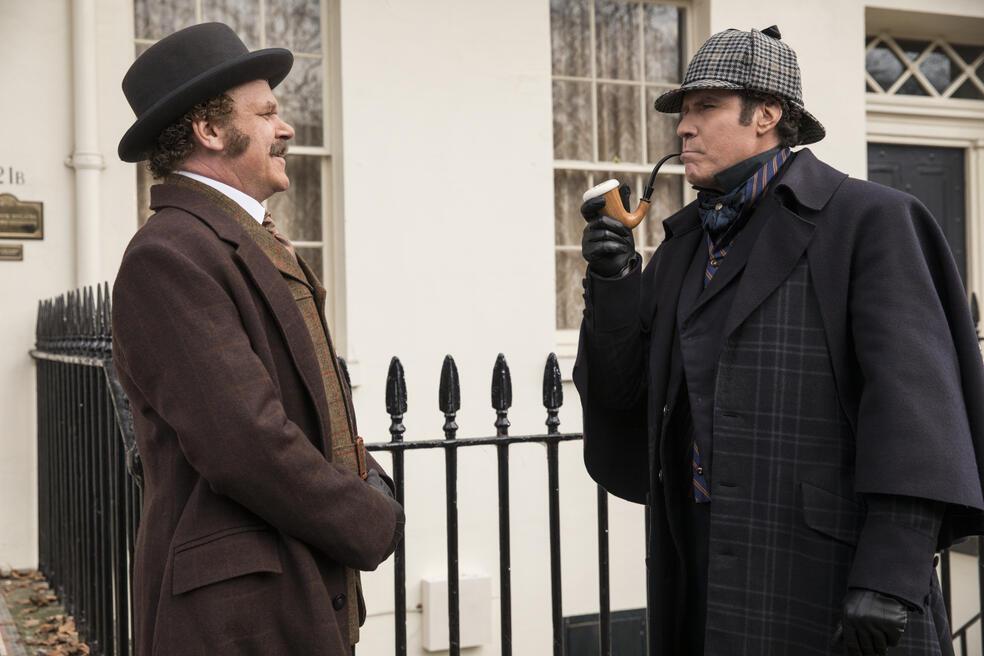 Holmes und Watson mit Will Ferrell und John C. Reilly