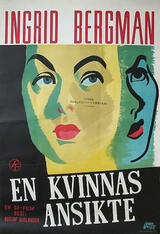 Das Gesicht einer Frau - Poster